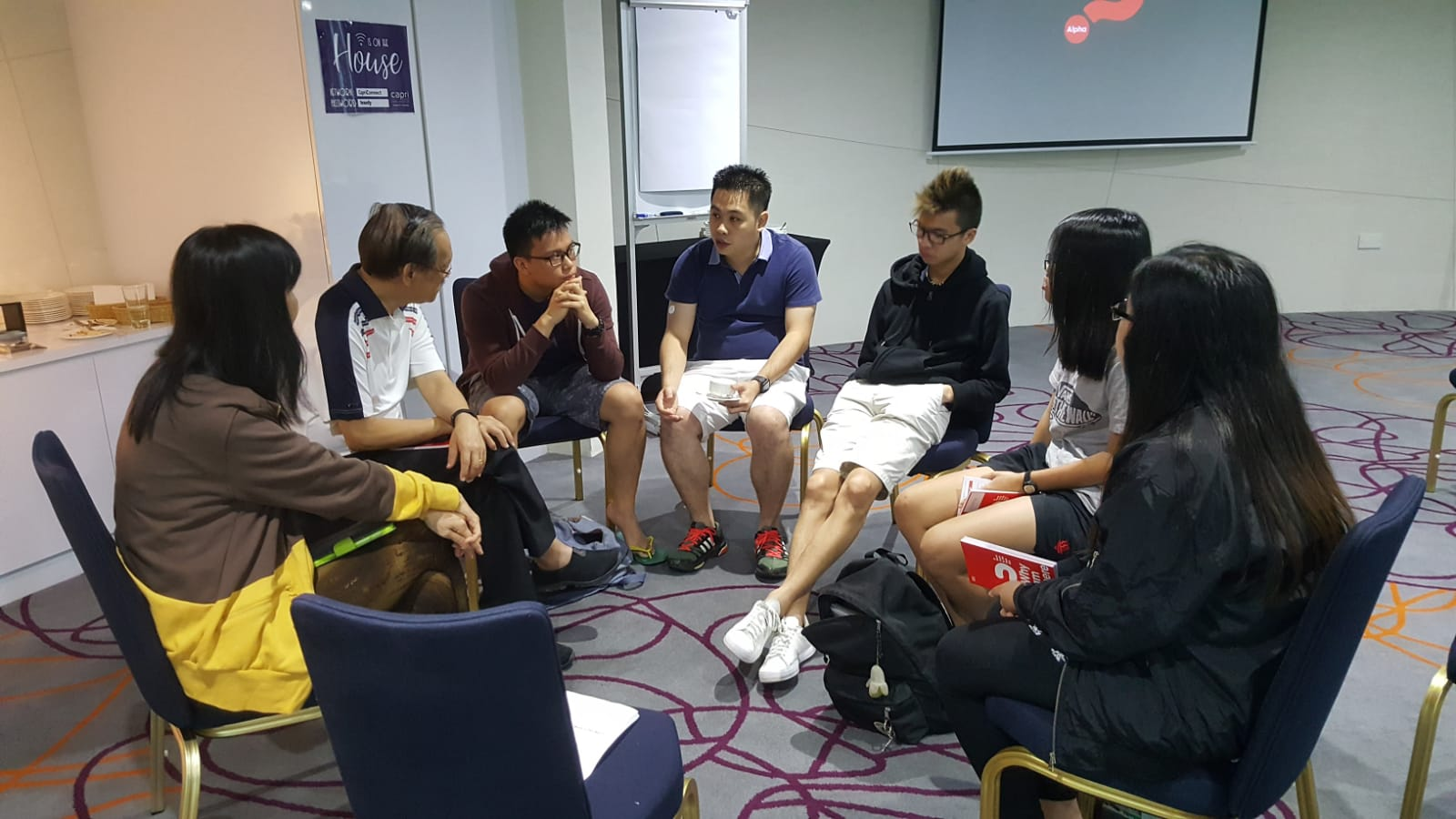 YA Alpha Discussion Group 2