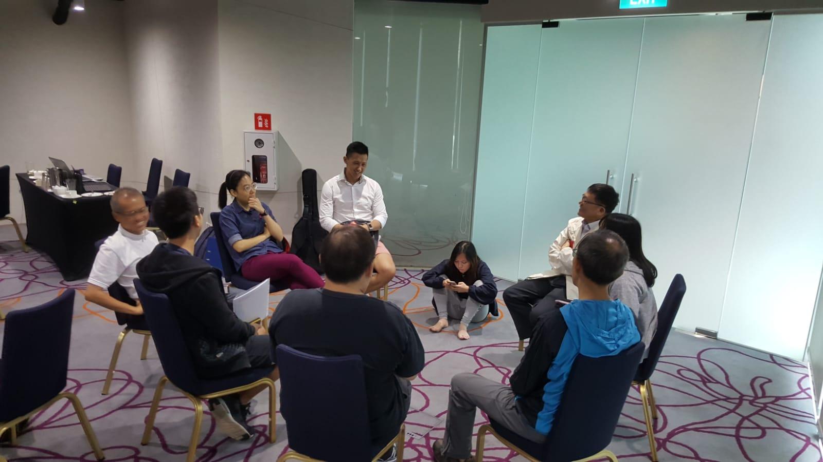 YA Alpha Discussion Group 3